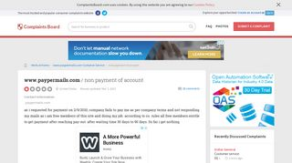 www.paypermails.com - Non payment of account, Review 404125 ...