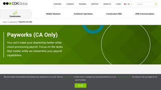 Payworks (CA Only)   CDK Global