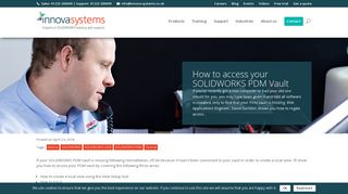 How to access your SOLIDWORKS PDM Vault - Innova Systems
