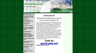 wikiwikiplanet - qmail.pdq.net