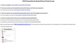 PowerSchool Student/Parent Portal