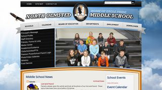 North Olmsted Middle School - North Olmsted City Schools