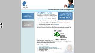 Peninsula HealthEducation for Nurses - Peninsula Health
