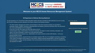 MCCS PeopleSoft Sign-in