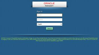 Oracle PeopleSoft Sign-in - Baystate Health