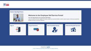 PeopleSoft - DC.gov