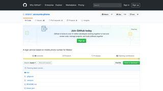 GitHub - okland/accounts-phone: A login service based on mobile ...