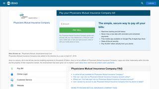 Physicians Mutual Insurance Company (Physicians Mutual): Login, Bill ...
