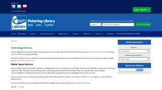 Pickering Library - Pickering Public Library