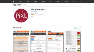 PiXL Maths App on the App Store - iTunes - Apple