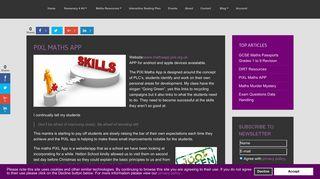 PiXL Maths APP - Miss B Resources