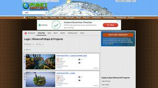 Best Login Minecraft Maps & Projects - Planet Minecraft