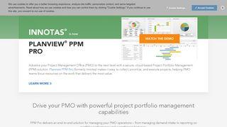 Planview PPM Pro (formerly Innotas) project portfolio management ...