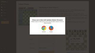 Yahoo Chess - Chess.com