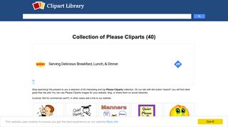 Please Cliparts - Clipart Library