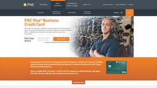 PNC Visa Business Credit Card | PNC