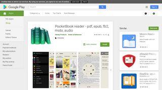 PocketBook reader - pdf, epub, fb2, mobi, audio - Apps on Google Play