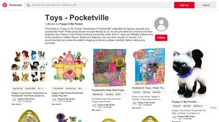 46 Best Toys - Pocketville images   Buy puppies, My pocket, Looking ...