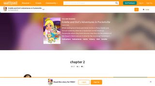 Estelle and Dot's Adventures in Pocketville - chapter 2 - Wattpad