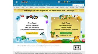 Join Club Pogo - Pogo.com