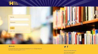 Henry County Schools - Login