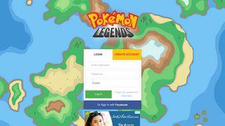 Pokémon Legends - Play Pokemon Online. Online MMORPG ...