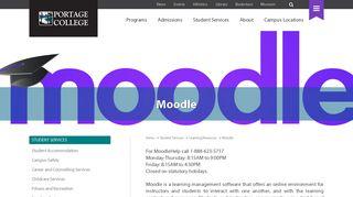 Moodle - Portage College