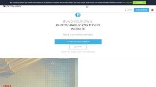 Photographers - Portfoliobox - Your online portfolio website