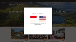 Secret Escapes: Join now for Free | Save up to 60% on luxury travel
