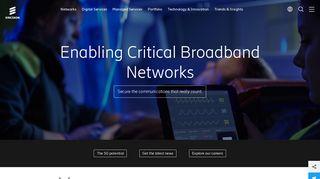 Ericsson - A world of communication