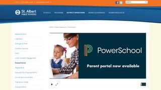 PowerSchool - St. Albert Public Schools