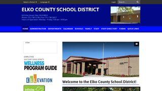 Elko County School District: Home