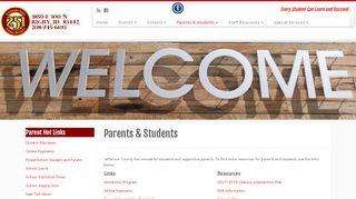 Parents & Students – Jefferson Joint School District #251