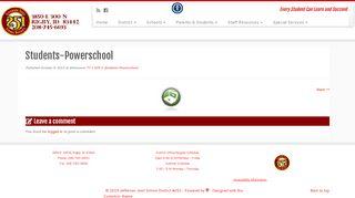 Students-Powerschool – Jefferson Joint School District #251