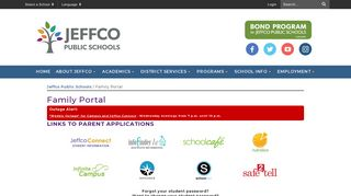 Family Portal - Jeffco Public Schools