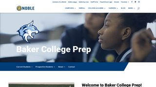 Baker College Prep   Noble Network of Charter Schools