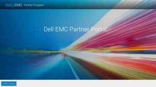 Dell EMC Partner portal   Dell EMC