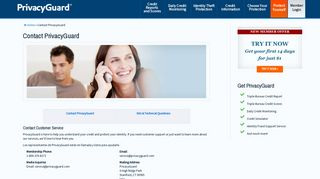 Contact Us   PrivacyGuard