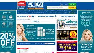 Shop Proactiv Online in Australia   Chemist Warehouse