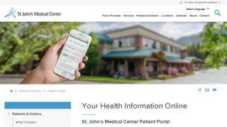 Patient Portal - St. John's Medical Center