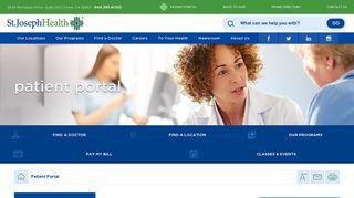 Patient Portal   St. Joseph Health