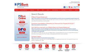 2 - PSBank | Search