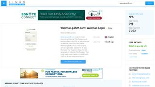 Visit Webmail.pshift.com - Webmail Login.