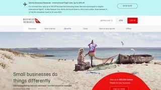 Qantas Business Rewards