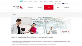 Aquire - Qantas Points