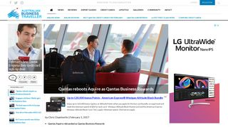 Qantas reboots Aquire as Qantas Business Rewards - Australian ...