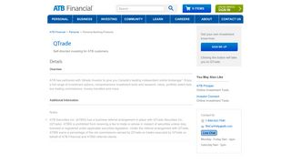 QTrade - ATB Financial