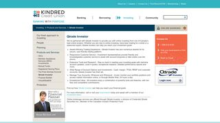 Qtrade Investor   Kindred Credit Union