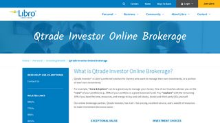 Qtrade Investor Online Brokerage - Invest & Manage   Libro