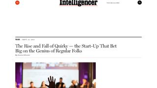 The Rise and Fall of Quirky — the Start-Up That Bet Big on the Genius ...